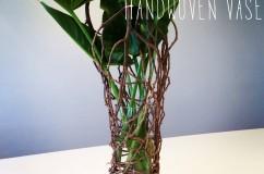 Handwoven vases