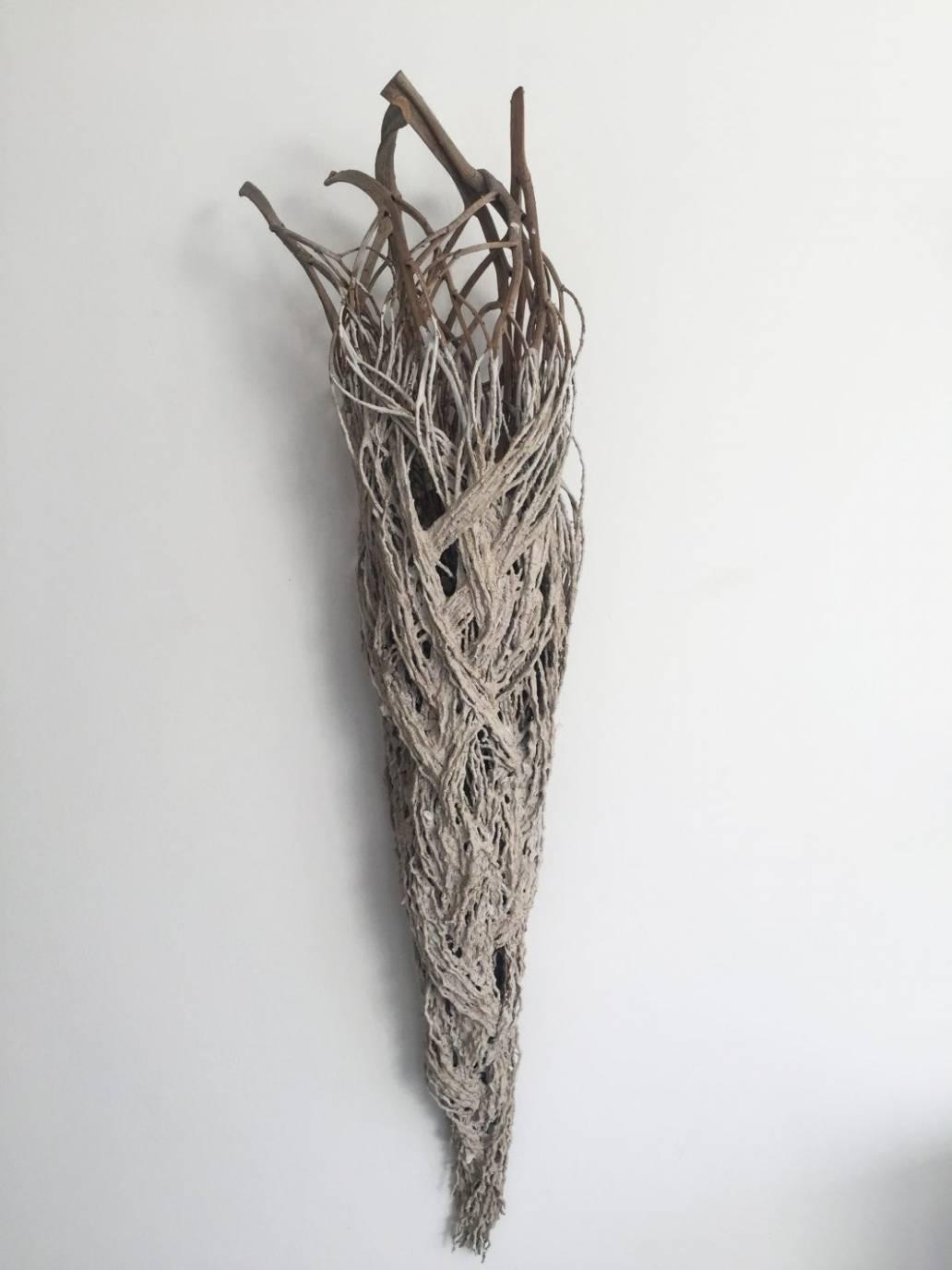 Ice Angel sculpture catriona pollard